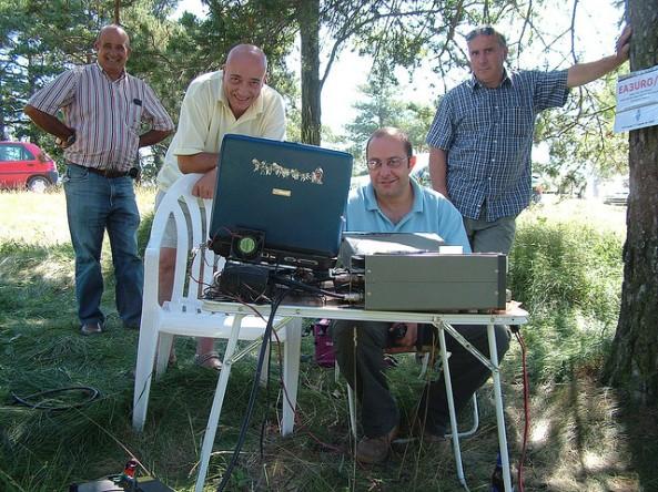EA3URO/P (Vèrtex Geodèsic dels Munts, Sant Agustí de Lluçanès) - 3 d'agost de 2008