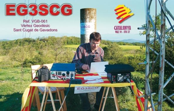 EG3SCG (Vèrtex Geodèsic Sant Cugat de Gavadons, Collsuspina) - 23 de maig de 2010