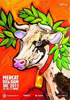 Cartell del Mercat del Ram 2011