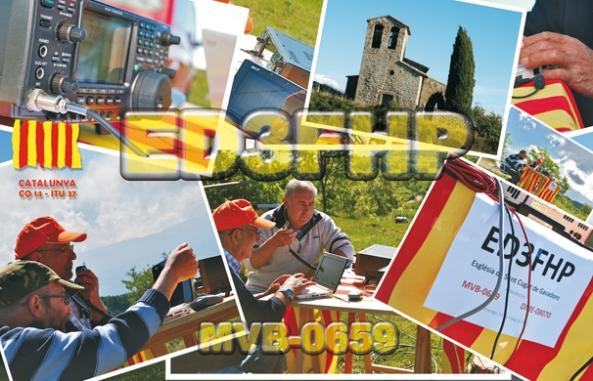 ED3FHP (Església de Sant Cugat de Gavadons, Collsuspina) - 15 de maig de 2011