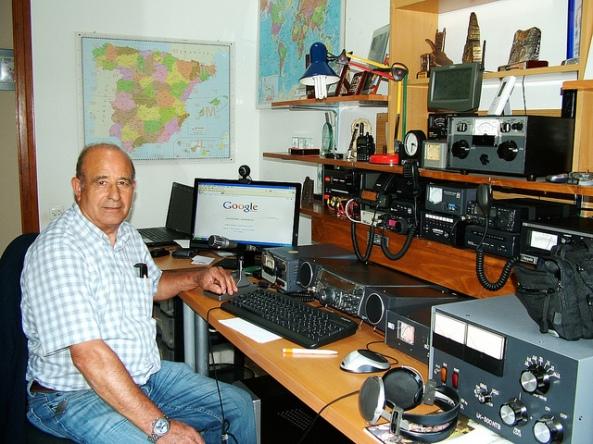 Noves antenes de l'estació EA3CH