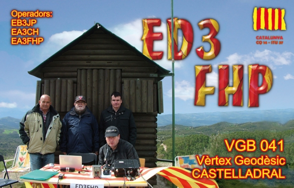 ED3FHP (Vèrtex Geodèsic Castelladral, Navars) - 22 d'abril de 2012