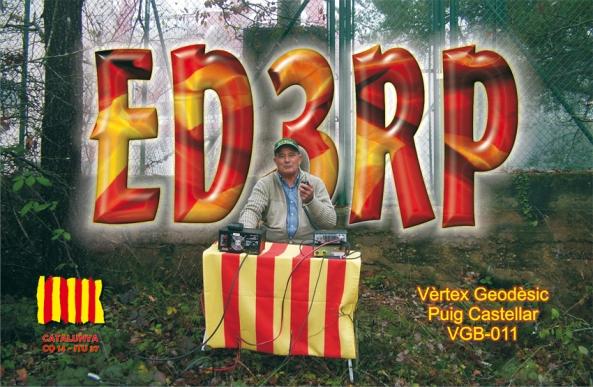 ED3RP (Vèrtex Geodèsic Puig Castellar, Balenyà) - 13 de novembre de 2011