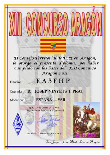 EA3FHP (Aragó 2011)