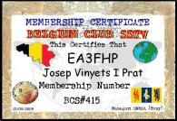 EA3FHP (Belgium Club SSTV)