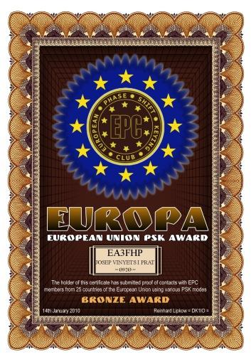 EA3FHP-EUROPA-BRONZE