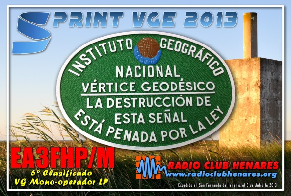 EA3FHP (Sprint VGE 2013)