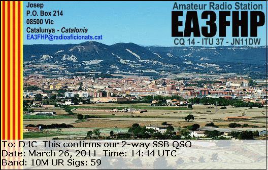 EA3FHP-eQSL