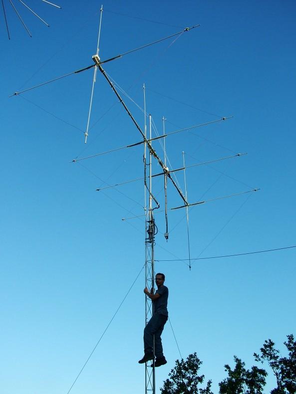 EA3FRI (Antena cúbica)