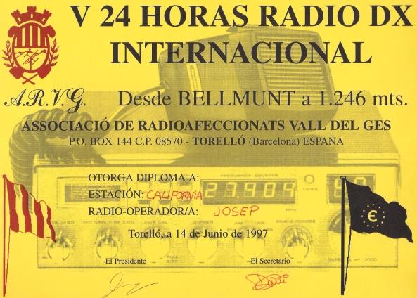 Associació de Radioaficionats Vall de Ges
