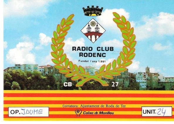 Ràdio Club Rodenc