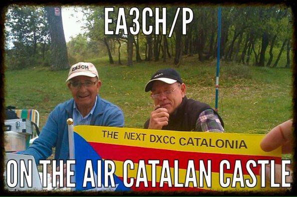 EA3CH-P (Castell de Clarà)