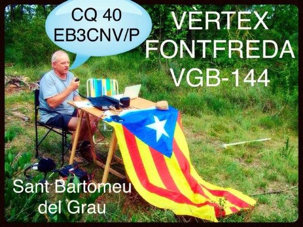 Anunci Vèrtex Fontfreda 2015