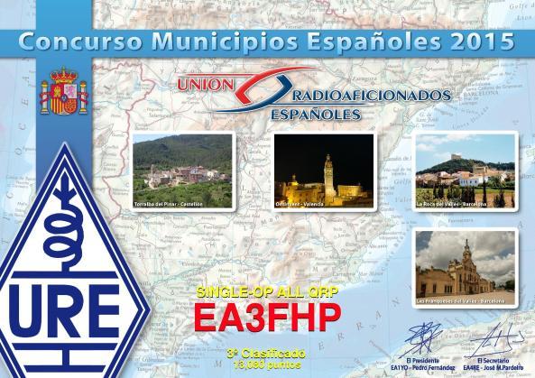Diploma EA3FHP (CME-2015)