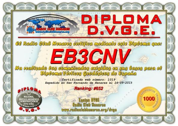 Diploma EB3CNV