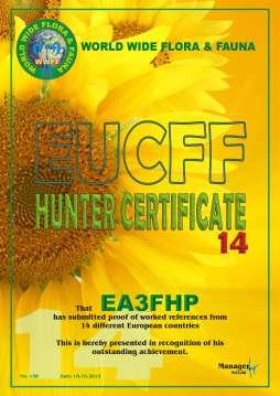 Diploma EA3FHP (14H EUCFF)