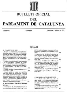 Butlletí Parlament Catalunya 1981 - Radioaficionats (1)