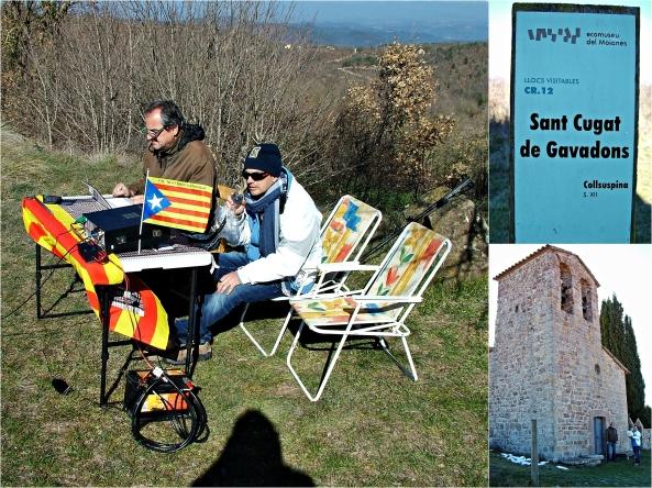 EA3HSL (Ermita Sant Cugat de Gavadons)