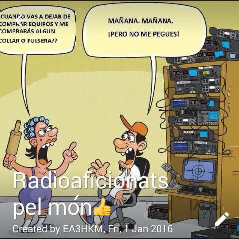 Radioaficionats pel món