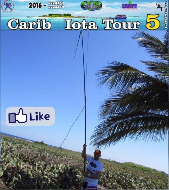 EA3JO (Carib IOTA Tour)
