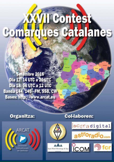Comarques Catalanes 2016