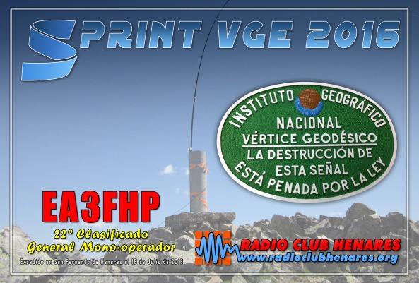 EA3FHP (Sprint VGE 2016)