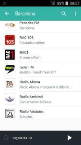 Llista d'emissores