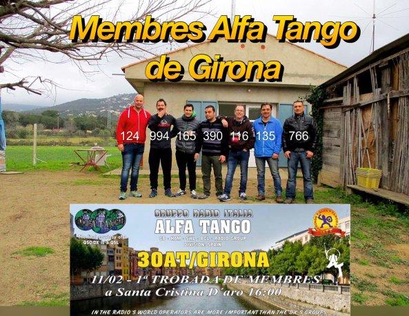 """Trobada de membres """"Alfa Tango"""""""