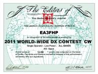 EA3FHP_CQWW_2011_CW_certificate