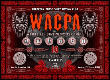 EA3FHP-WACPA-10M