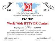 EA3FHP_WWRTTY_2011_RTTY_certificate
