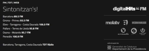 Freqüències Digital Hits FM