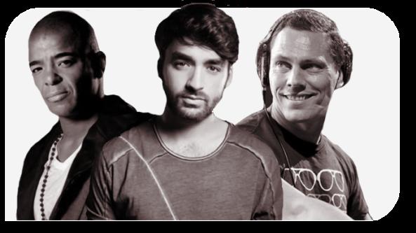 Erick Morillo, Oliver Heldens & DJ Tiësto