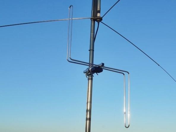 Antena ALCAD FM-200 (Vertical i horitzontal)