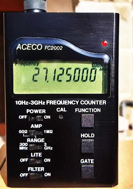 Freqüencímetre digital ACECO FC2002
