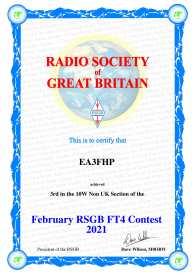 RSGB FT4 Contest (Febrer)