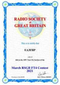 RSGB FT4 Contest (Març)