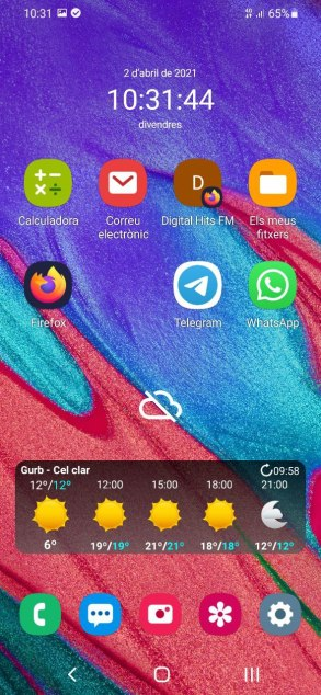 Samsung Galaxy A40 - Android 11